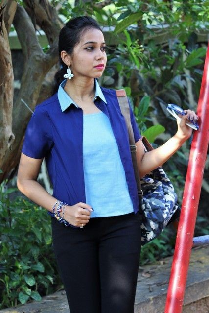 Looking for something similar to this blue top since ages. Any leads? - SeenIt