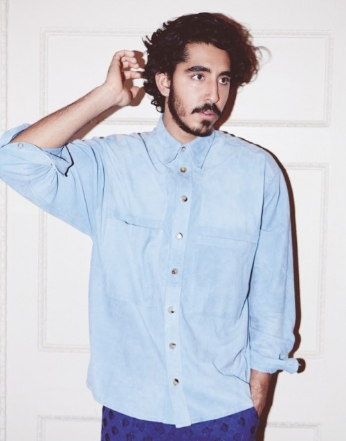 Want a similar blue shirt that Dev Patel is wearing. - SeenIt