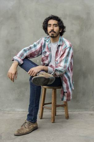 Can you help me find a similar pink and blue checked shirt that Dev Patel is wearing? - SeenIt