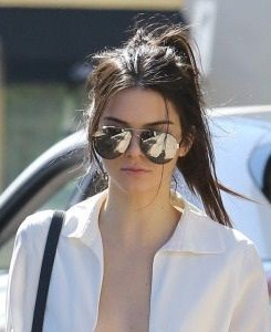Looking for the similar sunglasses that Kendall Jenner is wearing - SeenIt