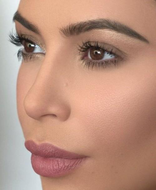 Looking for a similar lipstick shade that Kim Kardashian is wearing - SeenIt