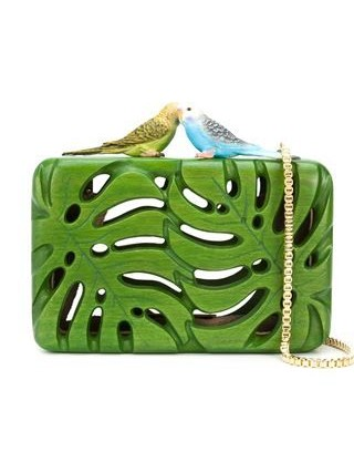 Yay or Nay? This green leaf shaped clutch bag. - SeenIt
