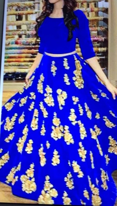 Want this blue lehenga - SeenIt