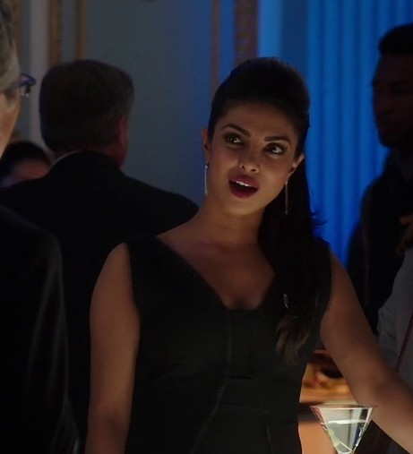 want a similar black dress like priyanka's in quantico - SeenIt