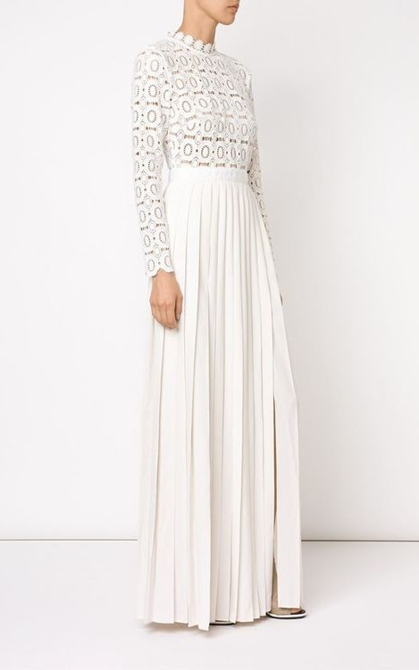 Need this beautiful white lace maxi dress from Indian website.. - SeenIt