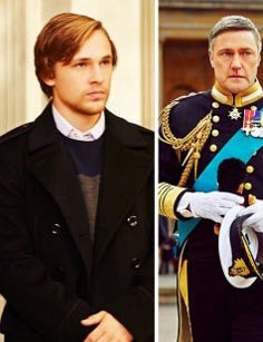Want a similar black double breasted coat like Prince Liam Henstridge wore. - SeenIt