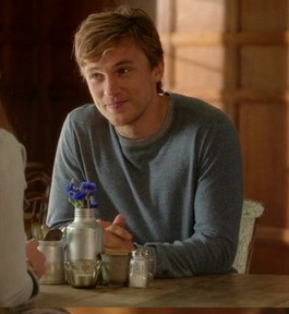 Prince Liam Henstridge's blue round neck pullover please. - SeenIt