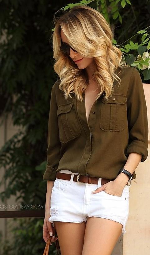 Love khaki fashion!! Help me find a similar colour or a lighter shade!! - SeenIt