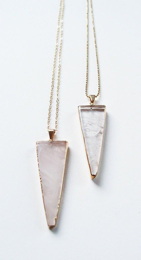 Need a similar triangle shaped pendant necklace <3 - SeenIt