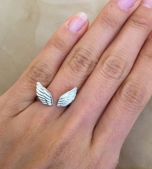 Can you help me find this silver wings ring? - SeenIt