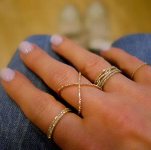 Looking for similar gold rings - SeenIt