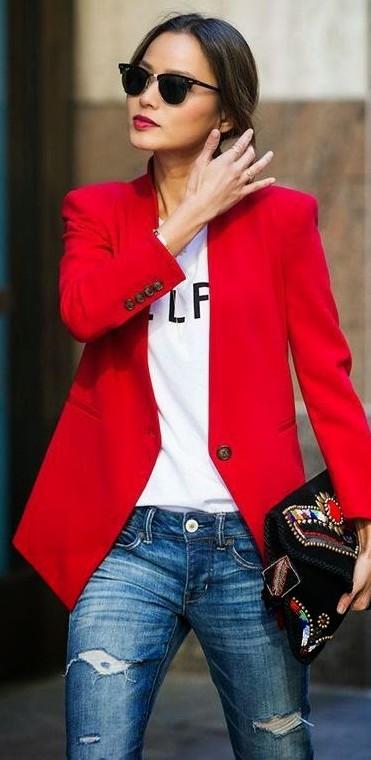 Where do I find the red blazer? - SeenIt