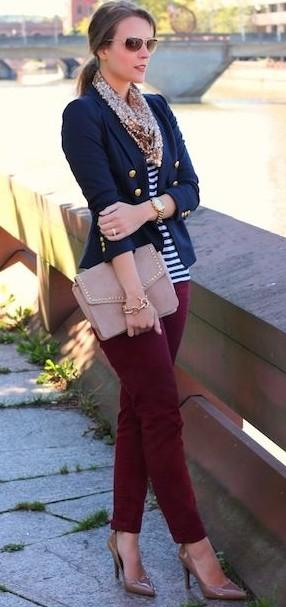 Please help me find a similar nautical stripe top and a similar handbag - SeenIt