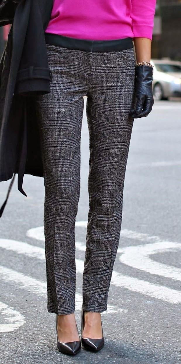 A pair of grey tweed trousers can be so perfect for the coming winters!! Need one urgently! - SeenIt