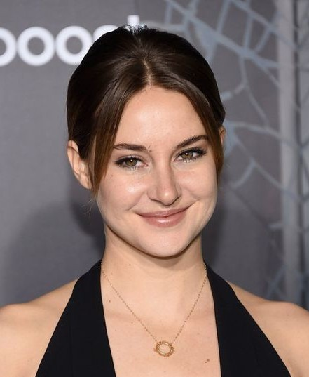 Looking for the golden ring pendant necklace that Shailene Woodley is wearing. - SeenIt