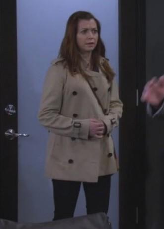 Need a similar coat online like Lily Aldrin is wearing. - SeenIt