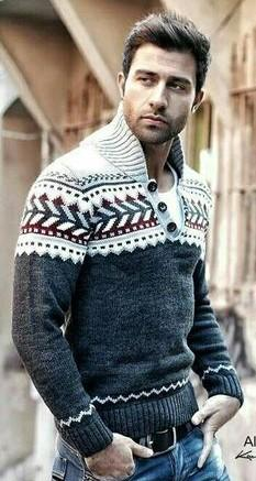 Looking for a similar fair isle sweater for my guy. Help me find it pls!! - SeenIt
