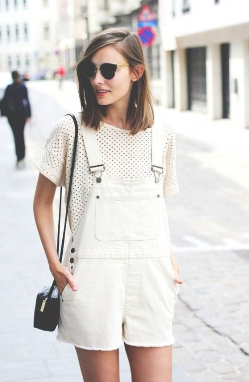 Similar outfit please! TIA the white romper with tee - SeenIt