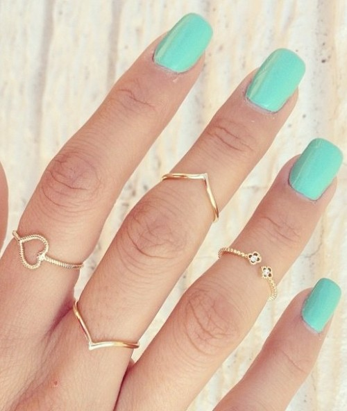 Need these minimal midi ring sets. - SeenIt