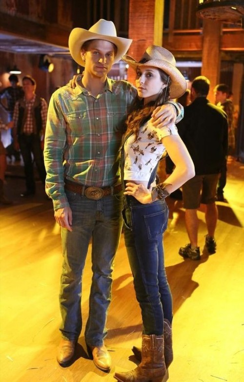 Looking for a green red checkered shirt with cowboy jeans that Toby Cavanaugh is wearing - SeenIt