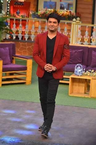 Please find me reddish brown blazer / coat like this one Kapil Sharma is wearing - SeenIt