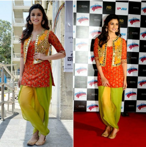 Looking for this from so long... Please help me find this party wear salwar kameez from humpty sharma ki dulhania - SeenIt