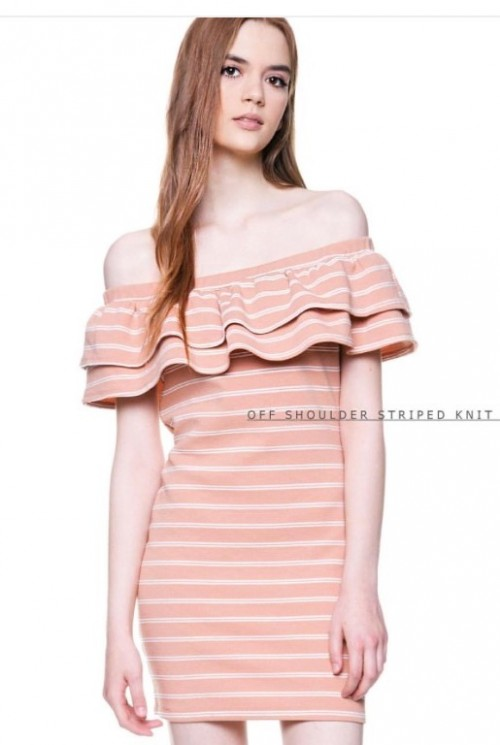 Looking for a similar striped Bardot dress..in same colour.domestic sites plz. - SeenIt