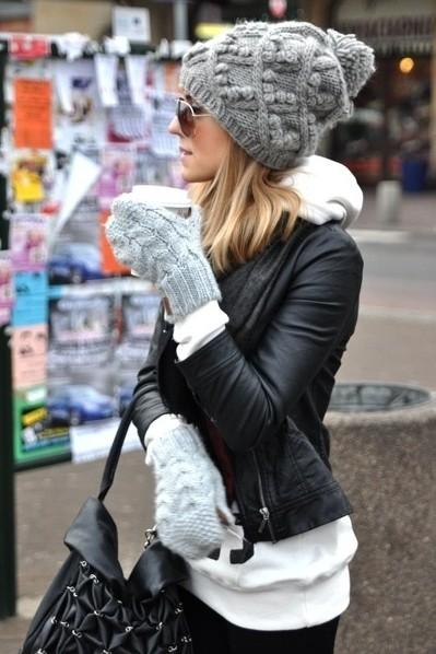 This is so cute!!! Want a similar grey knitted beanie now!!! - SeenIt