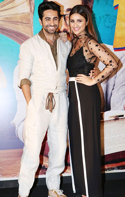 Yay or Nay? Ayushmann Khurrana wearing white gold jumpsuit - SeenIt