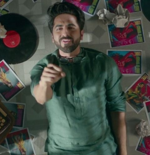 Looking for this green kurta that Ayushmann Khurrana is wearing - SeenIt