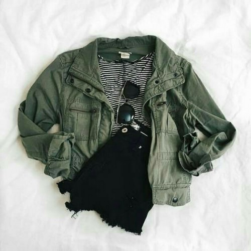 Want this olive green jacket - SeenIt