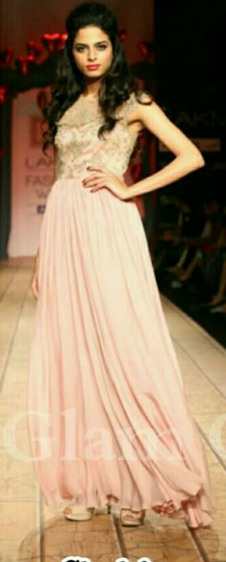 Want a similar pink gown - SeenIt