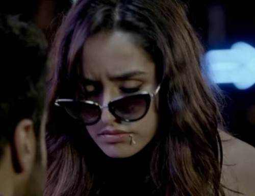 Looking for similar black cateye sunglasses that Shraddha Kapoor is wearing - SeenIt