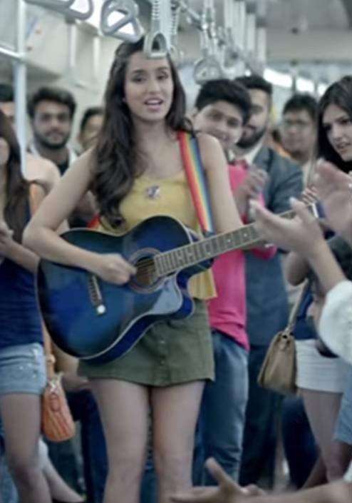 Looking for the yellow top and the olivegreen skirt that Shraddha Kapoor is wearing - SeenIt
