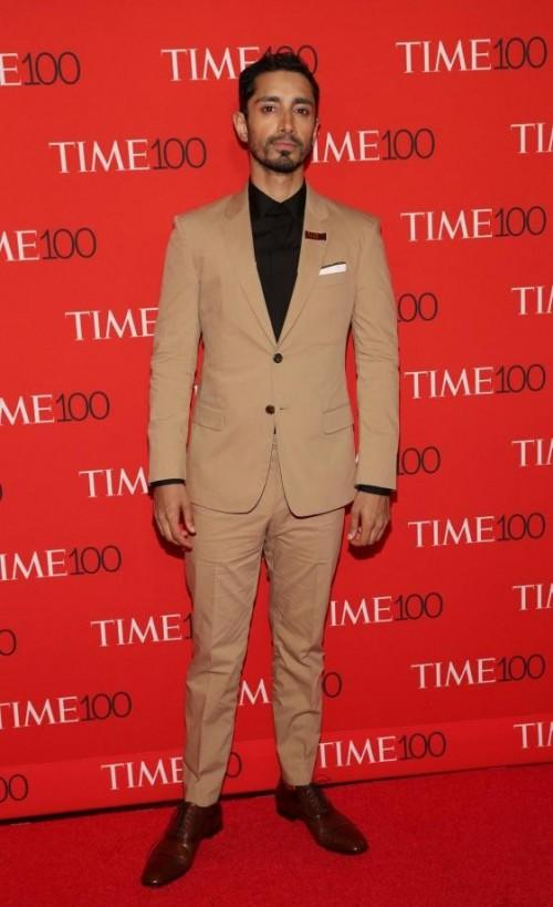 Yay or Nay? Riz Ahmed attended the Time 100 Gala 2017 wearing a khaki colour suit. - SeenIt