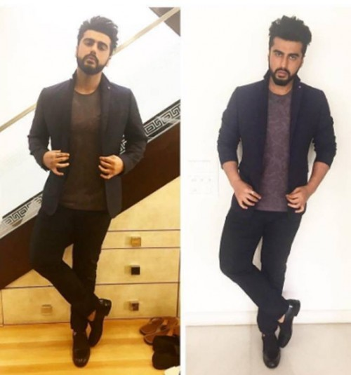 Looking for the blue blazer and trousers that Arjun Kapoor is wearing - SeenIt