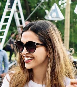 Looking for these sunglasses that Deepika Padukone is wearing - SeenIt