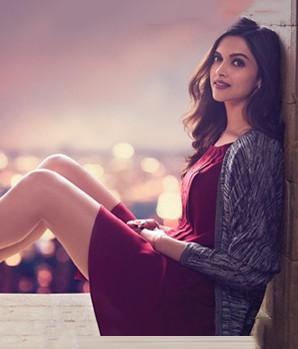 Looking for this maroon dress that Deepika Padukone is wearing - SeenIt