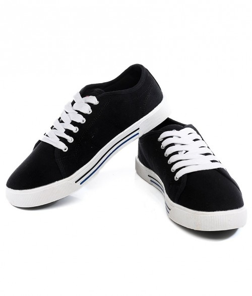 Want these black canvas shoes - SeenIt