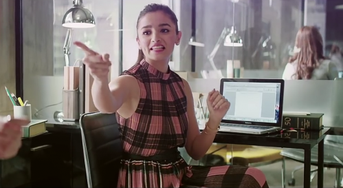 Looking for exact same dress which alia wore in make my trip ad - SeenIt