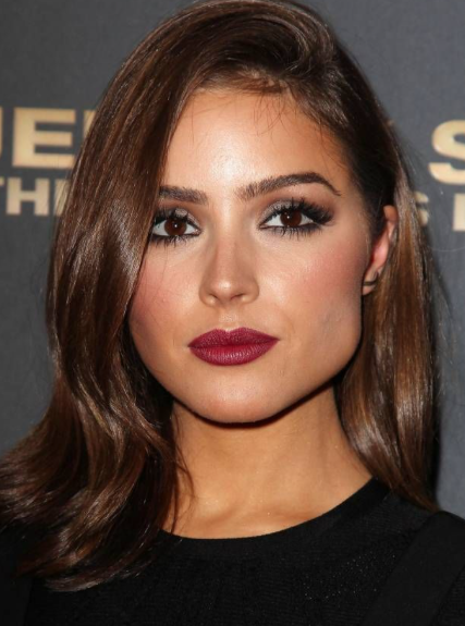 Looking for similar berry red lipstick that Olivia Culpo is wearing - SeenIt