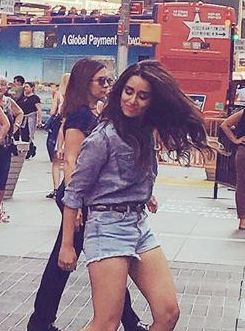 Want the denim shirt and blue denim shorts which Shraddha Kapoor is wearing in Half girlfriend - SeenIt