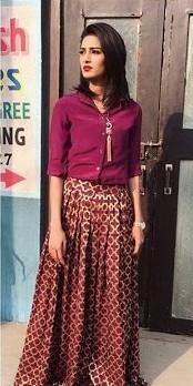 Erika Hernandez In Red Stockings