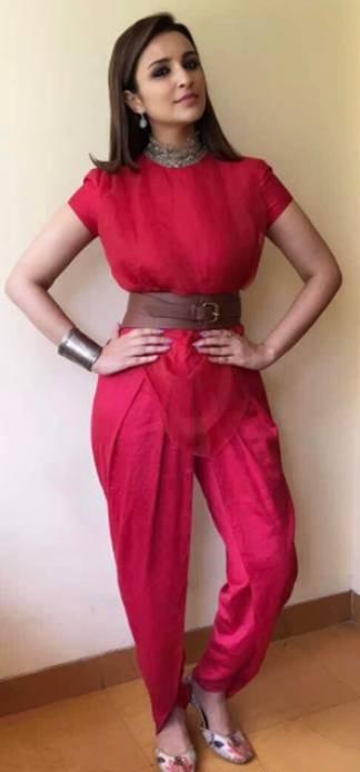 Looking for the silver cuff bracelet, choker that Parineeti Chopra is wearing - SeenIt