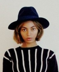 Looking for a similar black hat as the one Beyonce is wearing - SeenIt