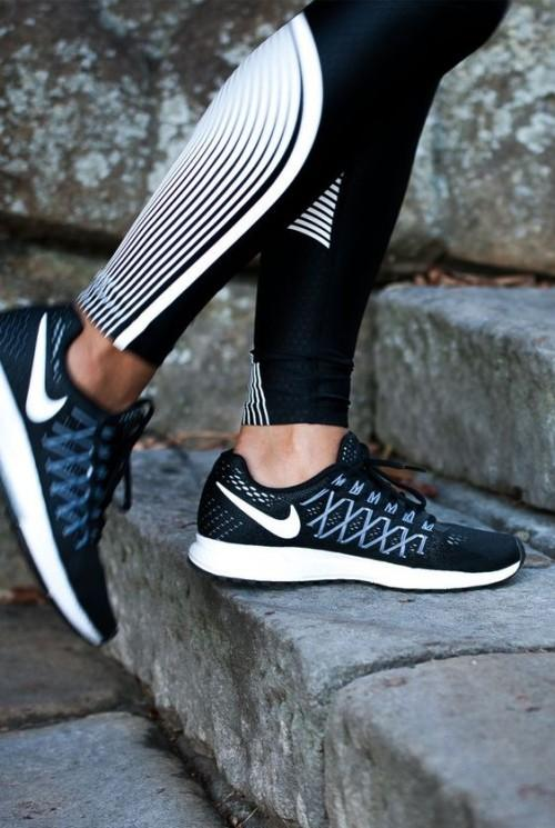 Looking for these black running sneakers - SeenIt