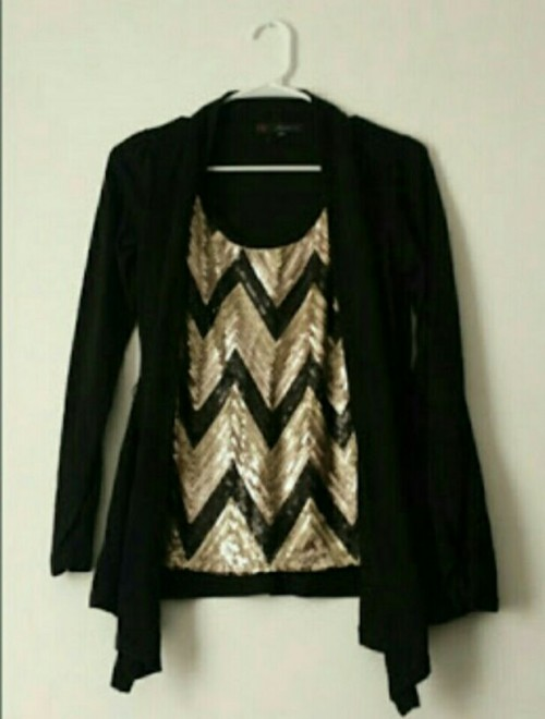 This is an example. Need Indian websites with tops with attached cardigans like these. Help. - SeenIt