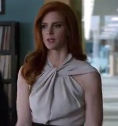 Want this top which Donna is wearing in suits - SeenIt