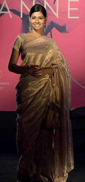 Yay or Nay? Nandita Das wearing an Anavila saree at the opening ceremony of Cannes 2017. - SeenIt