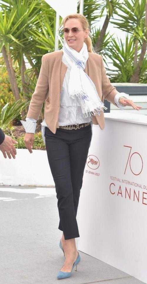 Yay or Nay? Uma Thurman attends the Jury Un Certain Regard Photocall during the Cannes Film Festival - SeenIt